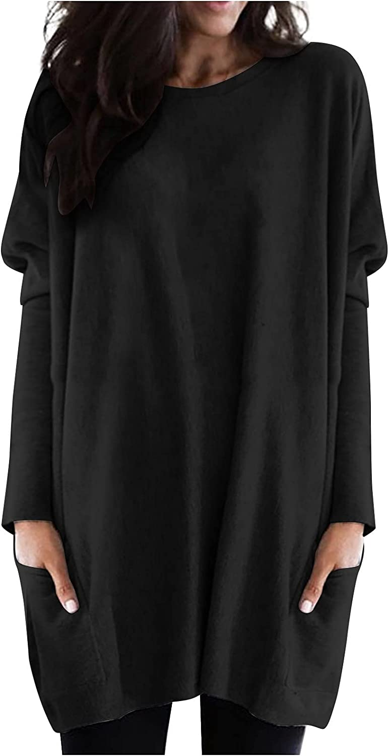 raillery Women's Fashion Long Plain Top Sleeve Online limited product Max 42% OFF T-Shirt Loos