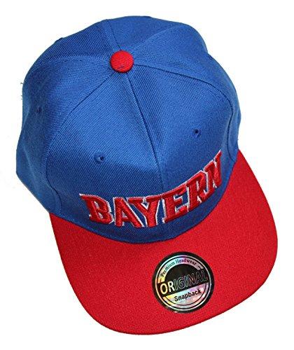 Premium Headwear Bundesliga Städte Casquette snapback Bayern Schalke Dortmund - Multicolore - Taille Unique