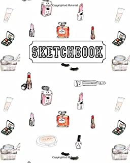 Sketchbook: Perfume and Mac : 110 Pages of 8