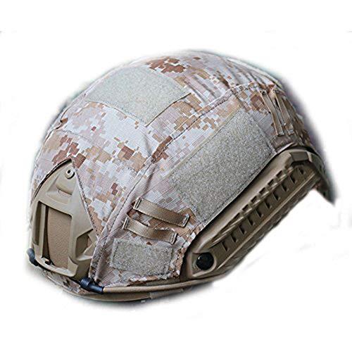 WorldShopping4U tactique Airsoft casque de chasse de style militaire Coque arrière Pochette, AOR1