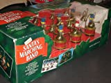 Mr. Christmas Vintage Santa's Marching Band Musical Holiday Display