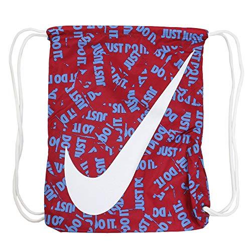 Nike Unisex-Kinder Y Nk Gmsk - Gfx Rucksack, Mehrfarbig (Red Crush Whit), 8x15x20 centimeters