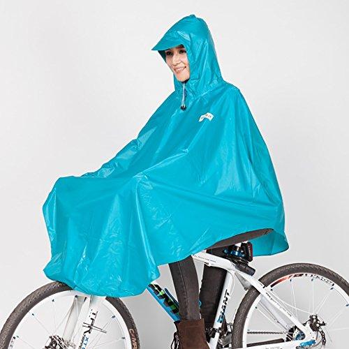 FSYY Regenkleding Fiets Regenjas Poncho Individuele Mannen en Vrouwen Volwassen Met pet Outdoor Riding Mountainbike Student