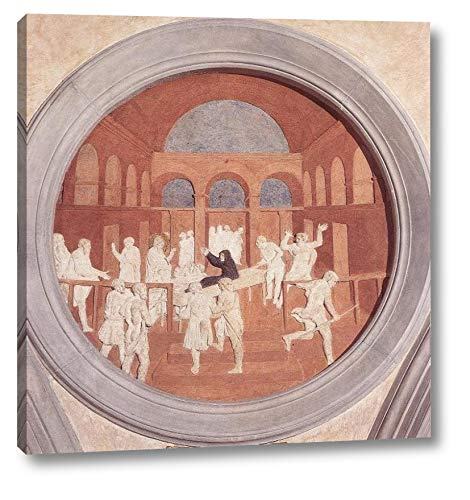 "Resurrection of Druisana by Donatello - 23"" x 24"" Gallery Wrap Canvas Art Print - Ready to Hang"