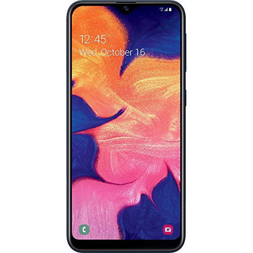 (Free $20 Airtime Activation Promotion) TracFone Samsung Galaxy A10e 4G LTE Prepaid Smartphone (Locked) - Black - 32GB - SIM Card Included - CDMA