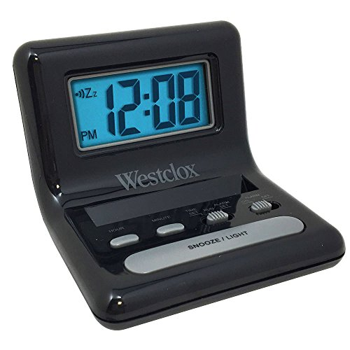 Clock Travel Alarm 0.8 by WESTCLOX MfrPartNo 47538A