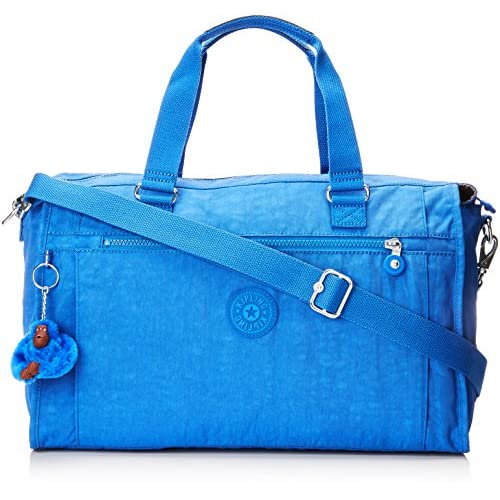 Kipling Pauline Tote da viaggio 40 centimetri, 20 litri, Saxony Blu, Taglia Unica