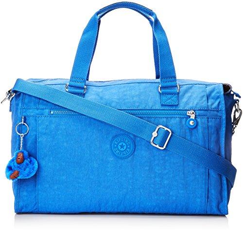 Kipling Pauline Travel Tote, 40 cm, 20 L, Blue (Saxony Blue)