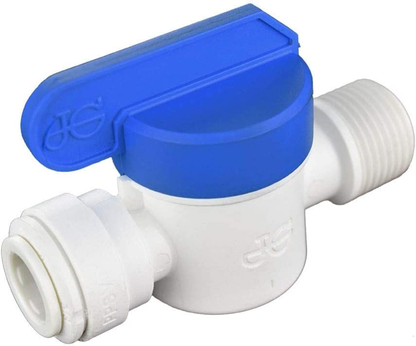 John Guest PPSV011223WP Max 51% OFF favorite Speedfit to Shut-Off Push-to Valve Male
