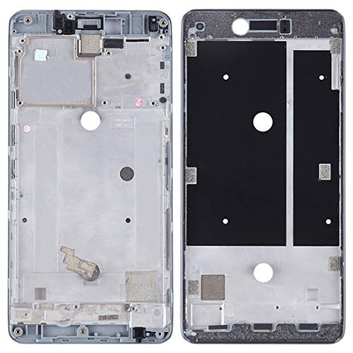 YEYOUCAI Carcasa frontal LCD Marco Bisel Placa para BQ Aquaris U Plus