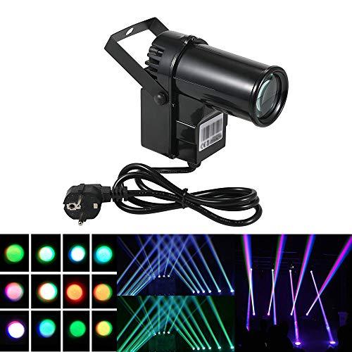 docooler Luce della Fase Colore 90-240V 15W 6 Canali DMX512 Suono Controllo Cambiare Lampada per Discoteca Club
