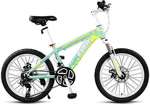 Bicicleta de 20 pulgadas para niñas de 9 a 14 años bicicleta de niños con ruedas de entrenamiento y freno de mano 4 colores-D