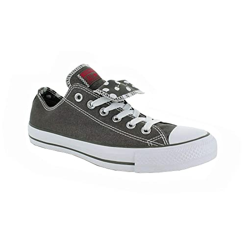 34e22a07f86b Converse Chuck Taylor WOMEN S All Star Grey double tongue Ox 534760f  Women s 8