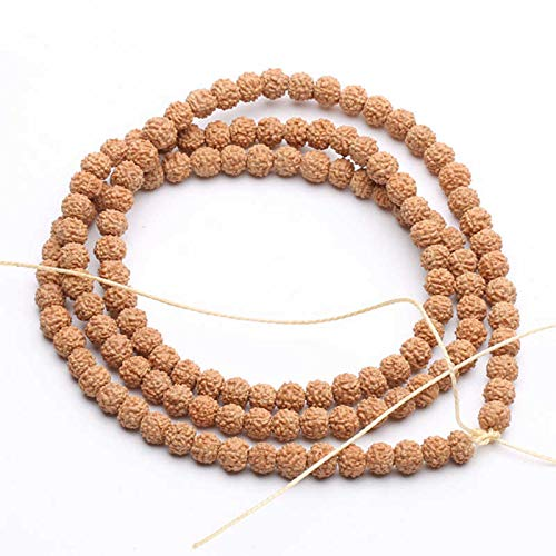 K-ONE Real Nepal Small Bodhi 108Beads Strand 6-7Mm Good Cleaned Quality Tsb0532-6-7Mm 108Beads