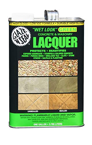 Glaze 'N Seal 113'Wet Look' Green Lacquer Sealer 1 Gallon