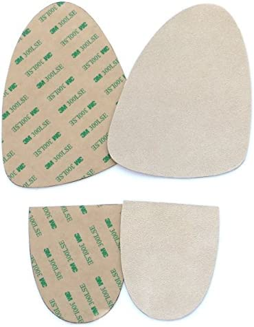 Stick on suede soles with industrial strength adhesive backing Resole old dance shoes or turn product image