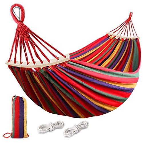 Rayisin Amaca per esterni con trave di bilancia, portata 250 kg, traspirante, ad asciugatura rapida, in tela con borsa per il trasporto per terrazzo, cortile, giardino