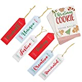 Christmas Cookie Exchange Party Voting Kit, 6 Award Ribbons (24 Cards)