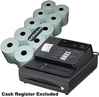 EPOSBITS® - 10 rollos para caja registradora Casio 140CR 140 CR