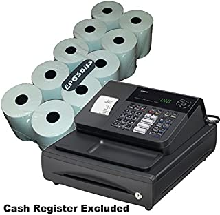 EPOSBITS® - 10 rollos para caja registradora Casio 140CR 140 CR ...