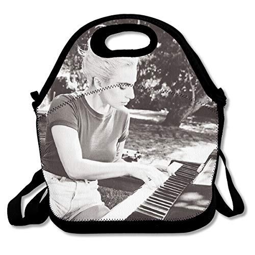 Lunch Tote Lady Gaga Joanne Waterproof Reusable Lunch Bags for Men Women Adults Kids Toddler Nurses with Adjustable Shoulder Strap - Best Travel Bag