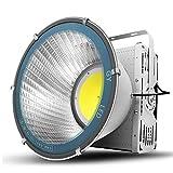 LEDフラッドライト、ハイパワースポットライトセーフティライトLEDタワーシャンデリア、庭、中庭、ガレージ、倉庫で使用されるIP65防水超高輝度LEDスポットライト (Size : 600W)
