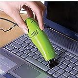 Tastiera 1PC Mini Computer aspirapolvere Sia conveniente Nuovo Mini Computer Portatile USB Desktop PC Spazzola di Pulizia Accessori per Notebook