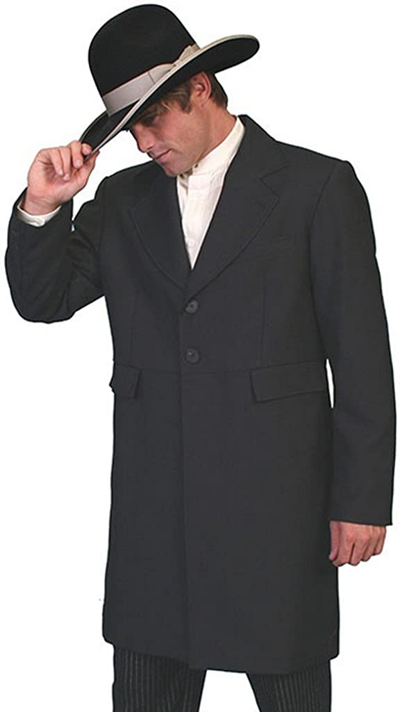 Scully Frock Coat, 538489X-BLK