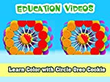 Learn Color with Circle Oreo Cookie