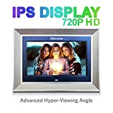 XElectron 10 inch IPS LED Digital Photo Frame/Video Frame with 1080P Support Resolution