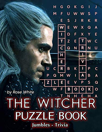 The Witcher Puzzle Book: The Book Can Help You Love Life More After Tired, Stressful Hours, Balance Your Life