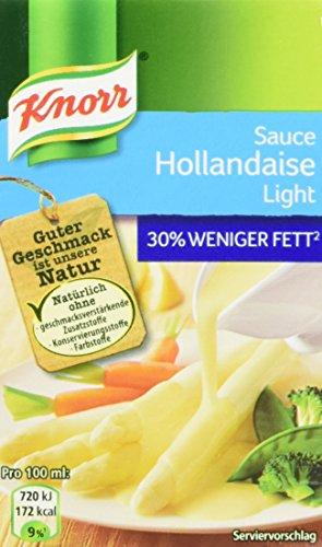 Knorr Tafelfertige Hollandaise light Soße (1 x 250 ml)