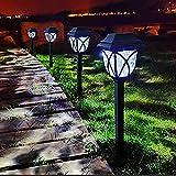 Luces Solares para Jardín, 8 Paquetes de Luces LED Solares para...