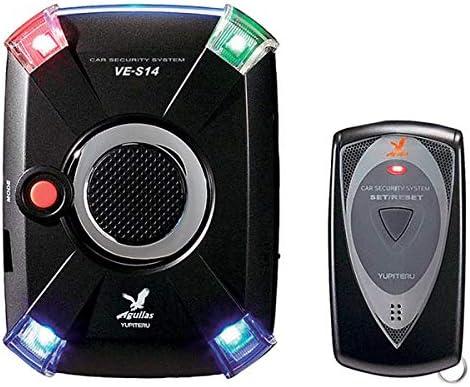 LEDによる多彩なスキャニング演出に加え警報も「ユピテル Aguilas VE-S14」