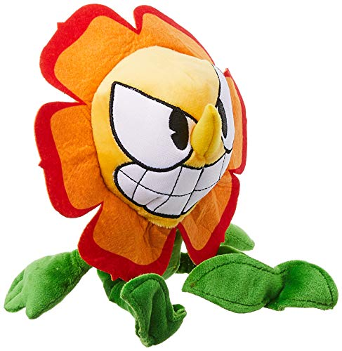 Funko Plush: Cuphead - Cagney Carnantion Collectible Figure, Multicolor