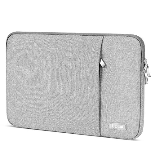 """Chromebook Cover with Organizer Pocket,Gray Voova Laptop Sleeve Case 13 13.3 inch with Handle Upgrade 360/° Protective Computer Carrying Bag Compatible MacBook Air//MacBook Pro//13.5/"""" Surface Book 3 2"""
