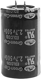 D DOLITY Capacitor Farad 2,7 V 500 F Super Capacitor 35 x 60 mm para Sistema de Áudio do Carro DIY - 6 metros