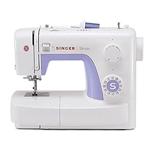 Singer Simple 3232 - Máquina de coser mecánica, 32 puntadas, 120 V, color