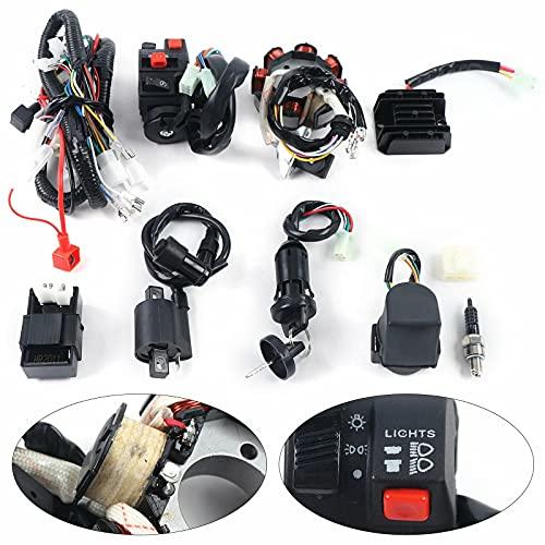 Komplette Elektro Kabel Kabelbaum Gleichrichter CDI für ATV QUAD 150-250 300CC