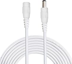 Monitors White 12V CCTV Wireless IP Camera Led Liwinting 2m//6.6ft DC Extension Cable 2.1mm // 5.5mm Male to Female Connector DC Power Cord Extension Cable for Power Adapter