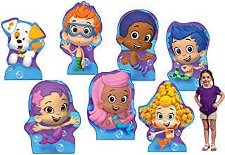 3 ft. 2 in. to 3 ft. 9 in. Bubble Guppies Standee Set Standup Photo Booth Prop Background Backdrop Party Decoration Decor Scene Setter Cardboard Cutout