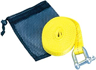 ATV Tow Strap with Shackle & Mesh Bag