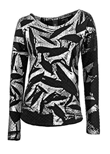 Heine - Best Connections Damen-Shirt Sweatshirt Mehrfarbig Größe 36/38