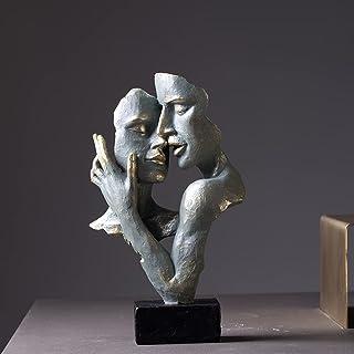 ZZXXBB Statue De Caractère Statues pour La Décoration à La Maison Mur Décoration, Style Nordique Moderne Simple Créatif Ar...