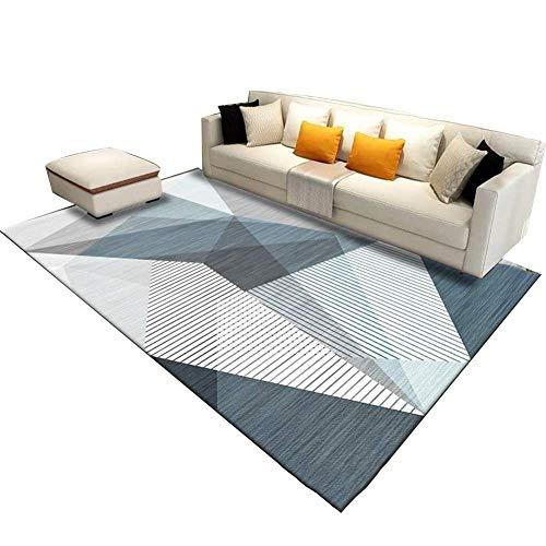 Klassisches Hause Teppich Moderne Geometrische Nordischen Stil Multifunktional Für Wohnzimmer Sofa Schlafzimmer Zum Entspannen Lesen Multi Farben Teppich In Verschiedenen Größen Teppich (140x200CM) In