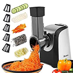 small Electric grater for vegetables Professional salad bowl, electric grater …