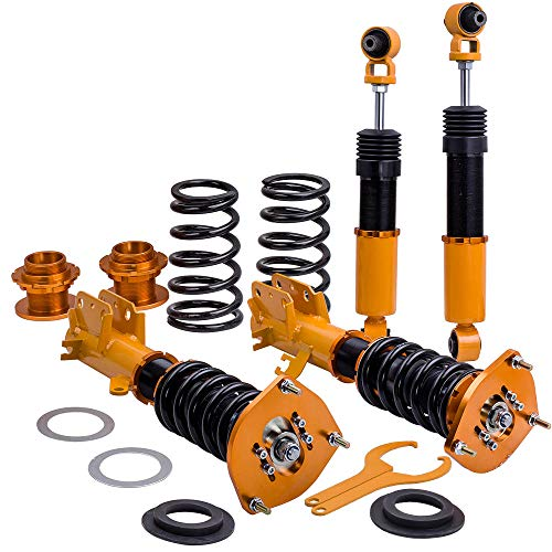 Complete Coilovers for Nissan Sentra B16 2007-2012 Adj Height Front + Rear