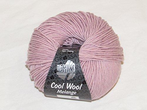 Lana Grossa Cool Wool Melange superfein Wolle Merino extra fein (134 - Rosa)