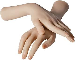 Generic Womens Nail Art Practice Mannequin Hand Jewelry Gloves Art Sketch Hands