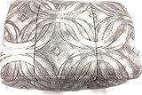 Trapunta per Letto Singolo Vallesusa Art. Norah in Cotone Sweet Touch VAR. Bruma (Grigio) cm. 170x260